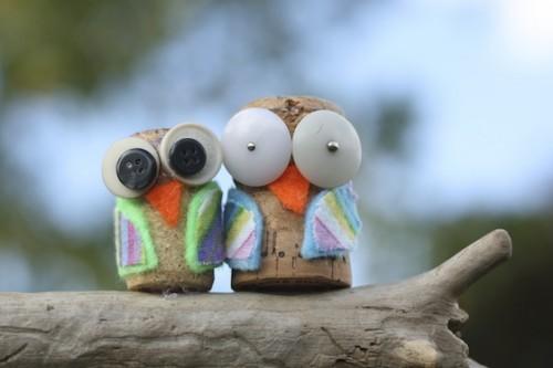 cork owl (via happyhooligans)