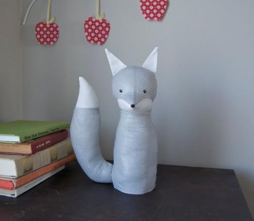 electrified fox lamp