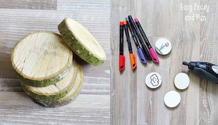 Picture Of fun and easy diy wooden key chain  2