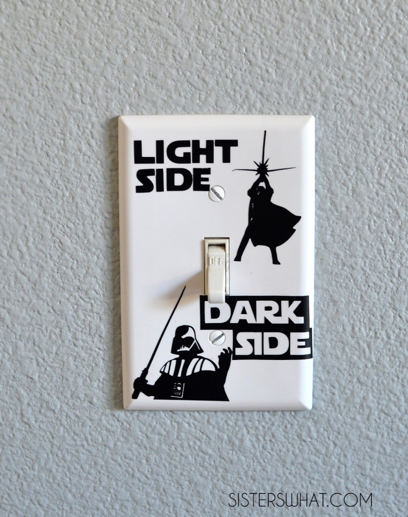 Picture Of Dark Side Light Switch