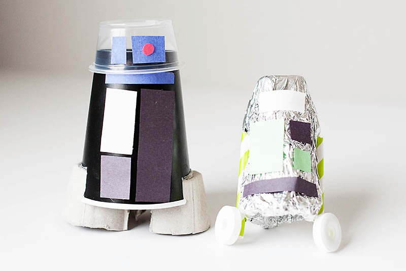 Picture Of Recycled Droid