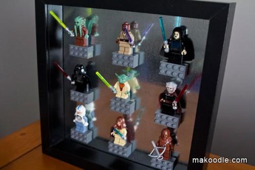 Star Wars lego art (via makoodle)