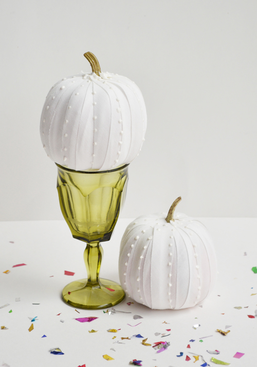 faux milk glass pumpkin (via ilovetocreateblog)