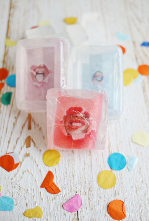 Fun DIY Photo Soaps As Friend Gifts