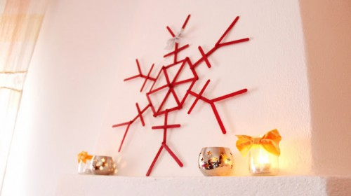 ice cream stick ornament (via curlymade)