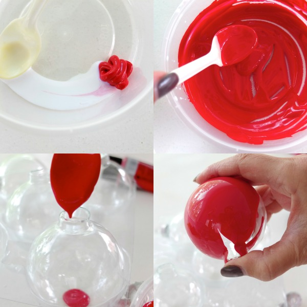 Picture Of fun diy vintage inspired fruity christmas ornaments  2