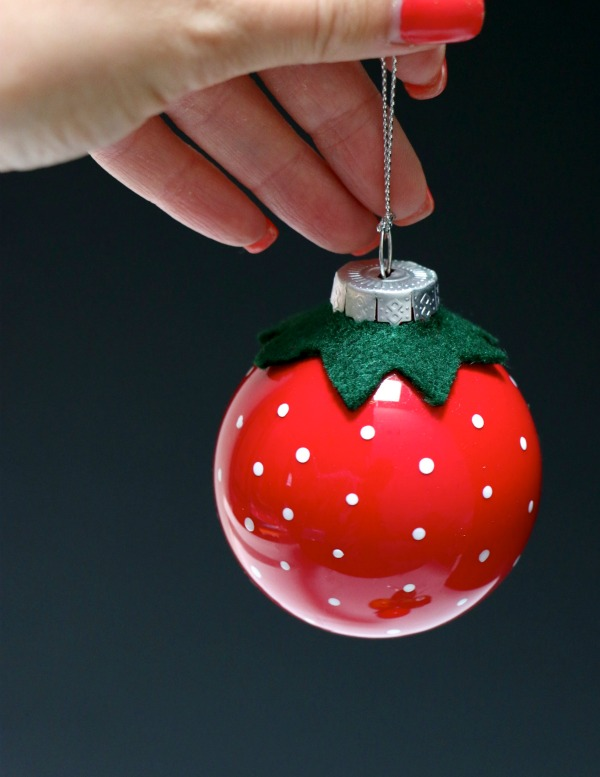 Picture fun diy vintage inspired fruity christmas