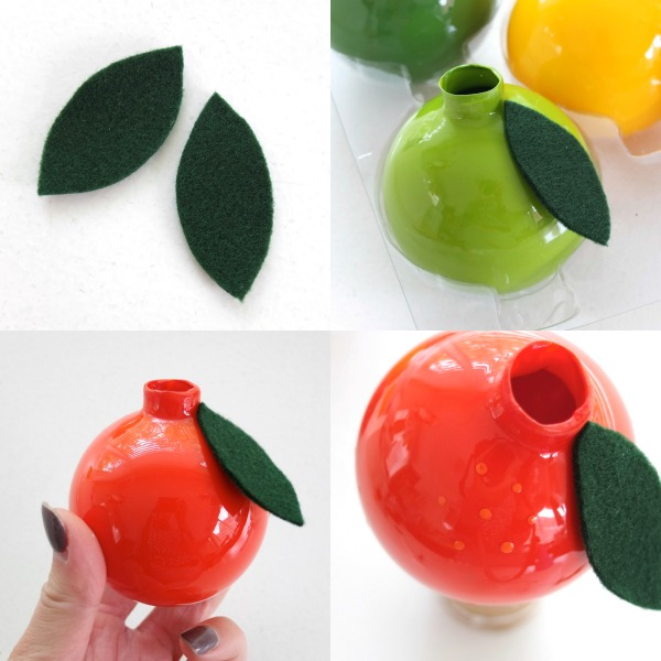 Picture Of fun diy vintage inspired fruity christmas ornaments  7