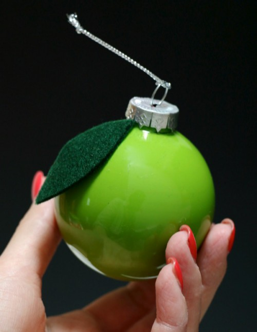 Fun DIY Vintage Inspired Fruity Christmas Ornaments