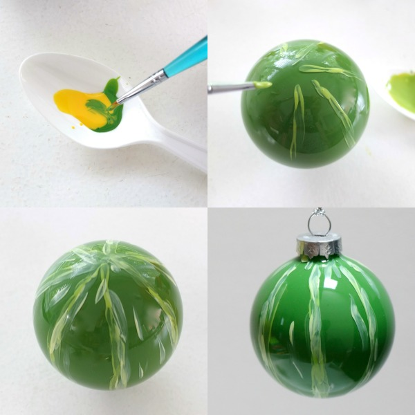 Picture Of fun diy vintage inspired fruity christmas ornaments  9