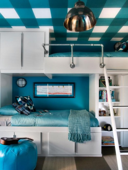 bunk beds with storage (via hgtv)