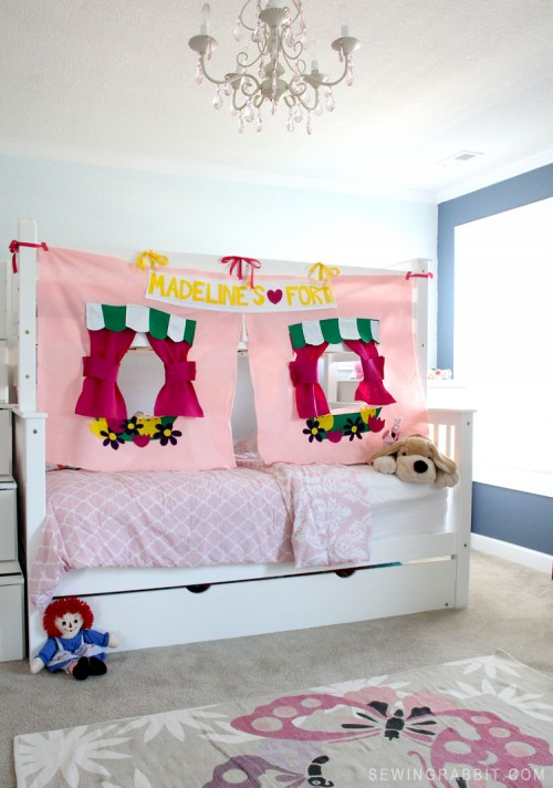 New bunk bed fort via mesewcrazy