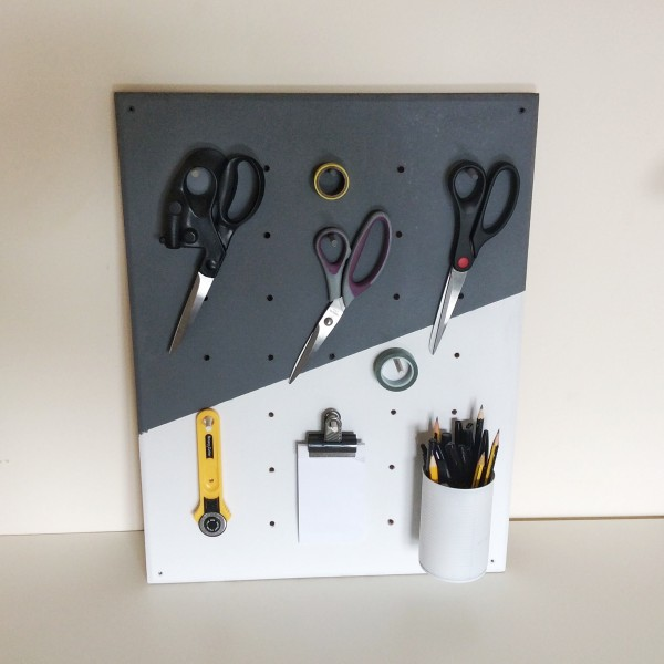 Picture Of functional and practical diy pegboard from plywood  2