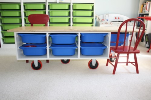 Functional DIY Child's Desk