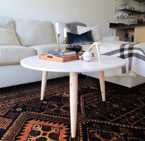 Diy Coffee Tables Archives Shelterness - Charming vintage diy sawhorse coffee table