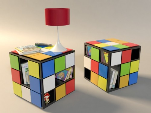 Funny Coffee Table Inspired By Rubik's Cube