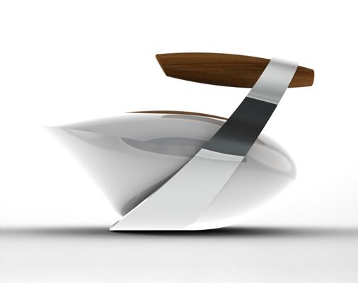 Futuristic Teapot