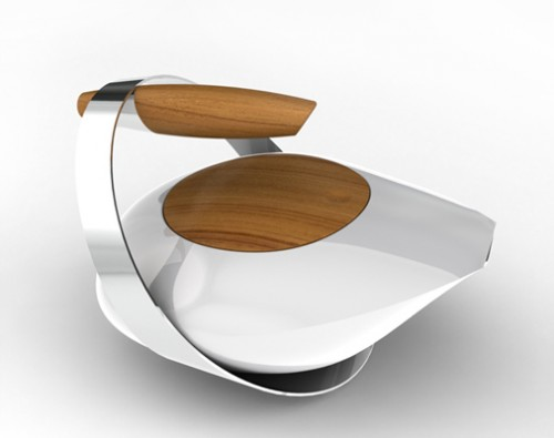 Futuristic Teapot Shelterness