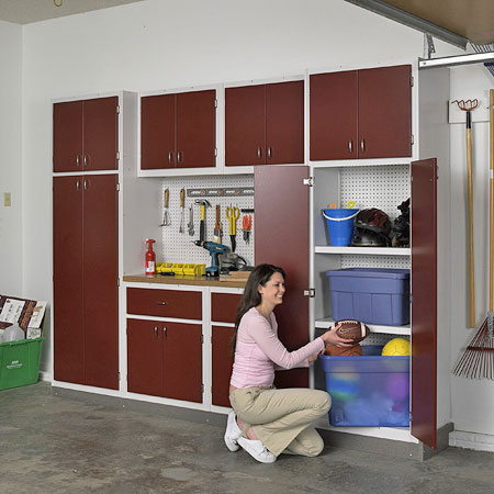 Garage Storage Ideas – Cabinets | Shelterness