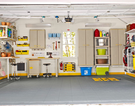 Smart Garage Storage Renovation
