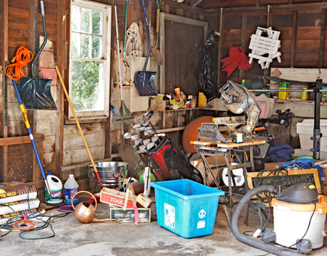 Garage Storage Renovation Before