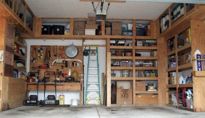 simple wood storage shelf plans