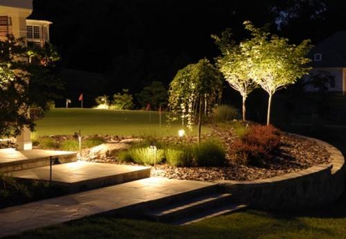 garden light ideas - Garden Ideas Lighting