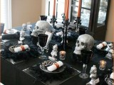 skulls can be used for table and other decor, they are perfect for Halloween and you can paint them any colors