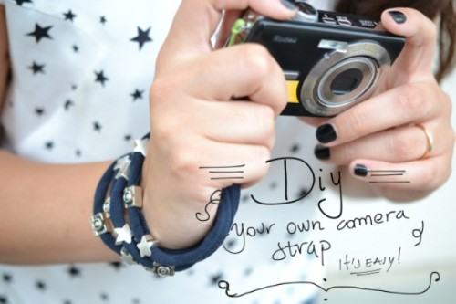 Girlish Diy Bracelet Camera Strap