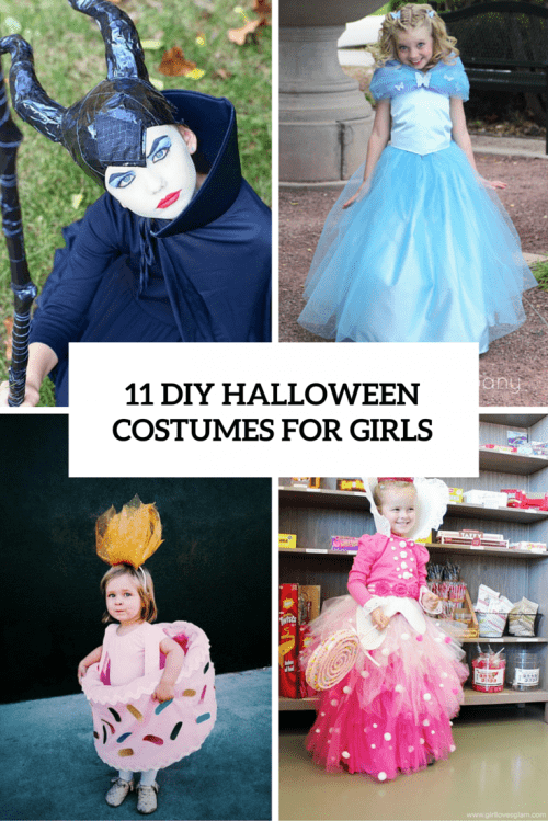 girls halloween costumes cover  sc 1 st  Shelterness & 11 Bold And Cute DIY Halloween Costumes For Girls - Shelterness