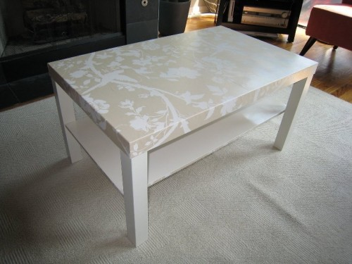Glamorous Ikea Table Renovation