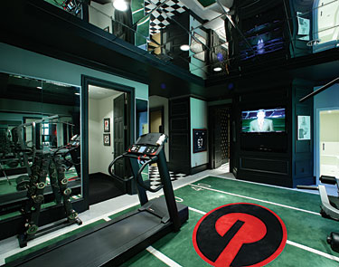 Picture of good home gym design for Best home gym design ideas