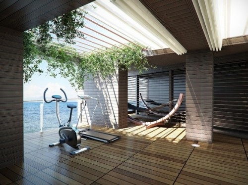 Marvelous 21 Practical And Cozy Home Gym Designs