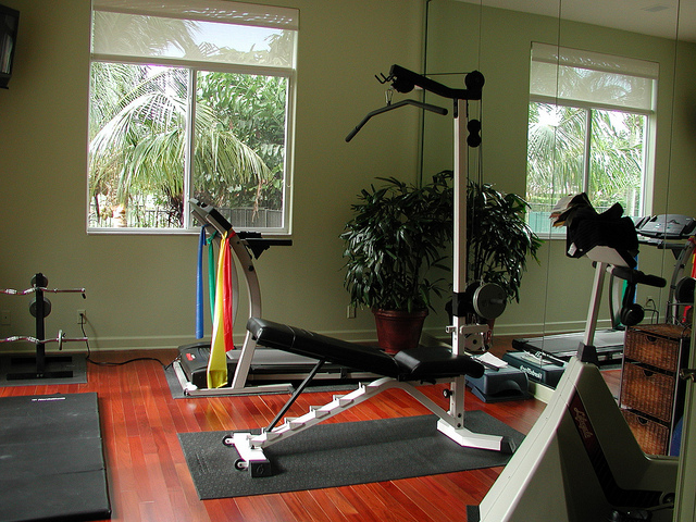 21 practical and cozy home gym designs 187 photo 12