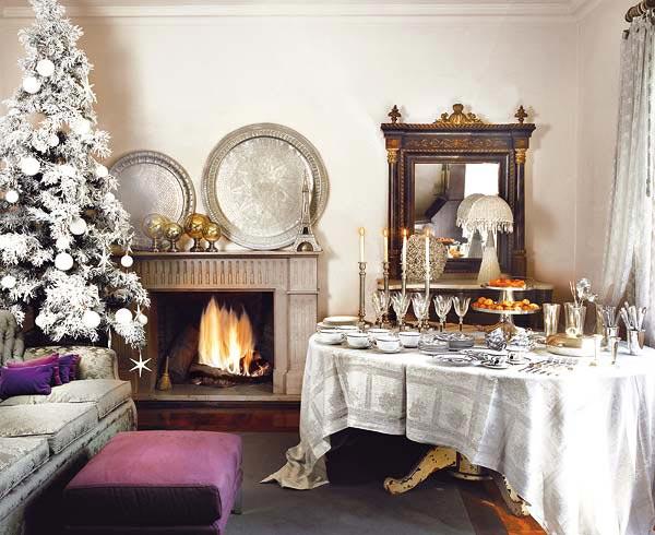 10 Gorgeous Christmas Table Decorating Ideas