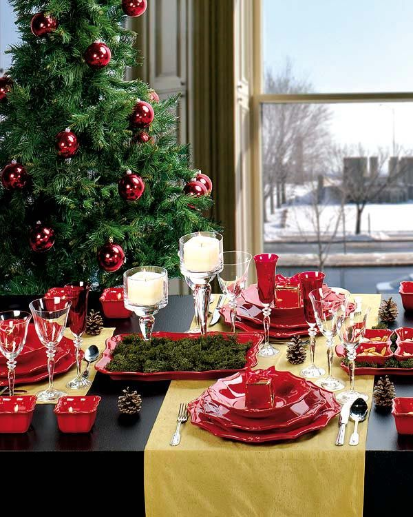 gorgeous christmas table decorating ideas shelterness