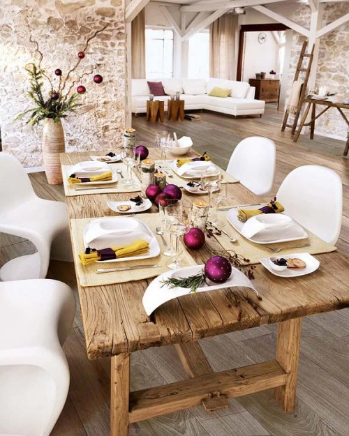 Gorgeous Christmas Table Decorating Ideas