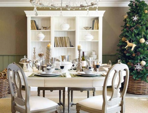 Gorgeous Christmas Table Decorating Ideas