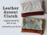 original leather clutch