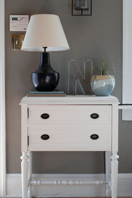 Sewing Table Turned Into Entry Table