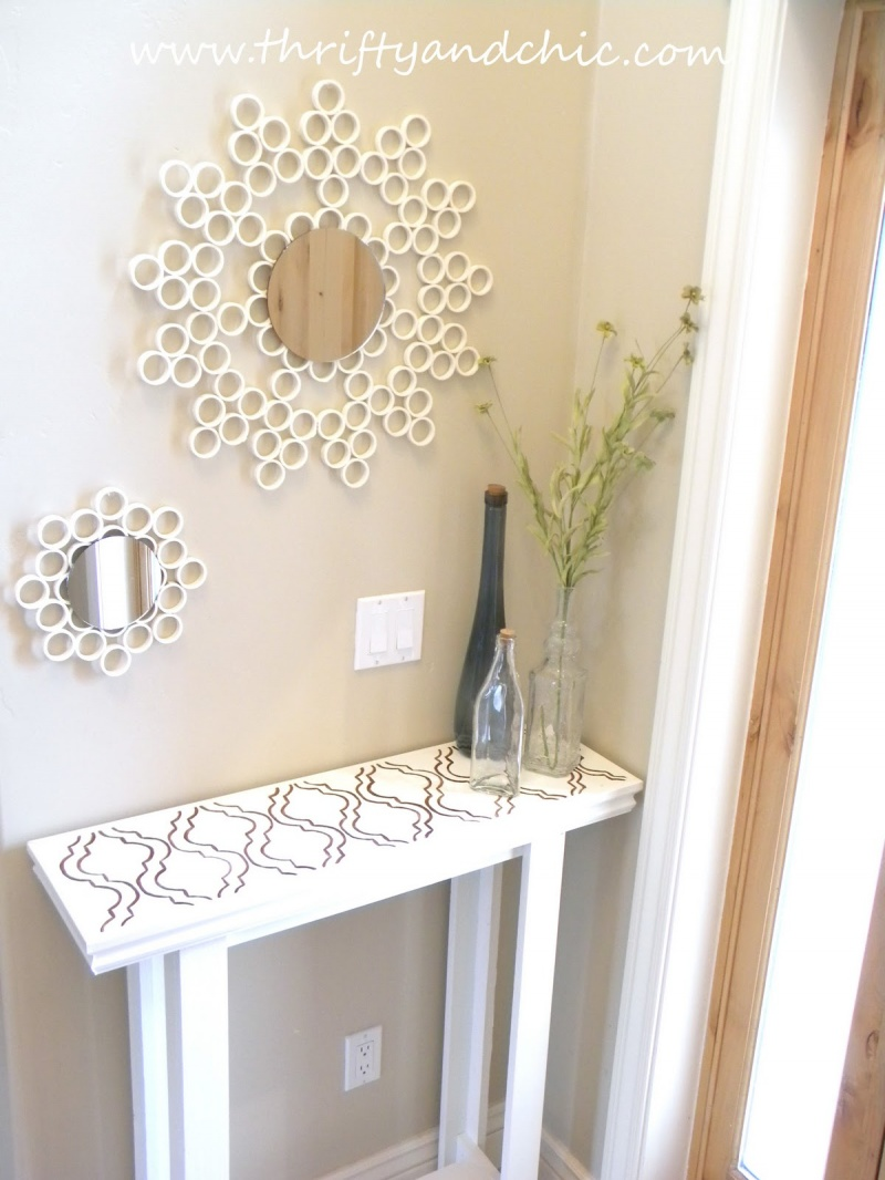 Simple DIY Entry Table