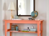 DIY Entry Table From IKEA's SVALBO Table