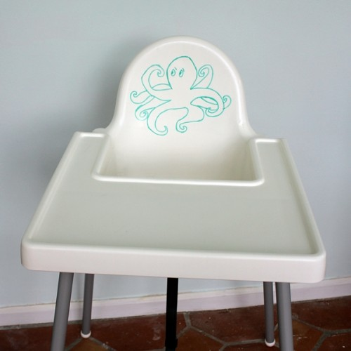 Antilop high chair renovation (via boxycolonial)