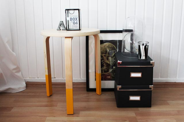IKEA hack hocker
