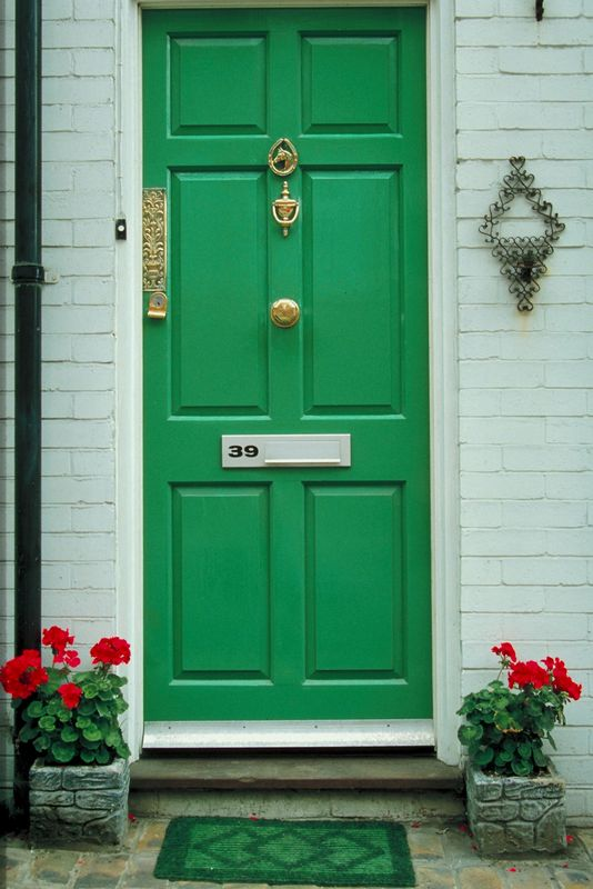 Green Front Door | 534 x 800 · 65 kB · jpeg