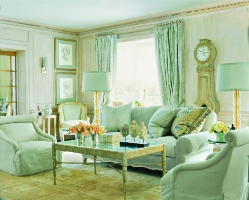 Green Color Is A Very Popular Color In Interior Design Depending On