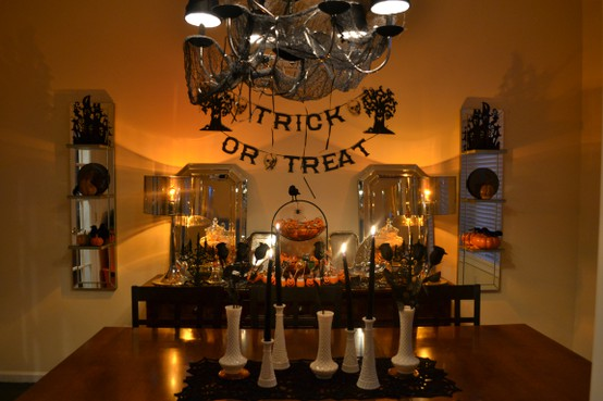 10 cool halloween dining room decorating ideas photo 10