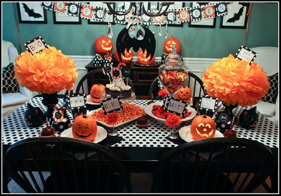 Picture Of Halloween Dining Room Decorating Ideas