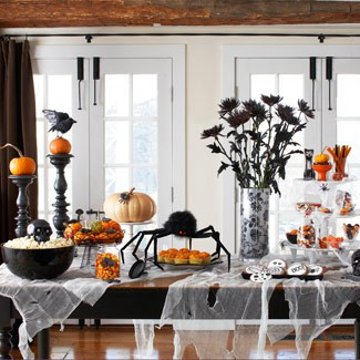 Dining Room on 10 Cool Halloween Dining Room Decorating Ideas    Photo 8