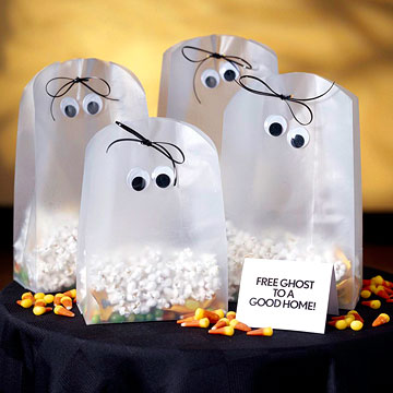 Halloween Ghost Party Favors